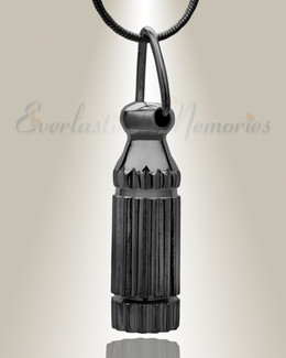 Darkness Cylinder Cremation Keepsake