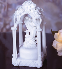 White Gazebo Marble Keepsake Urn
