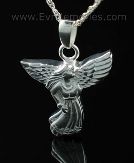 Angel Cremation Memorial Locket