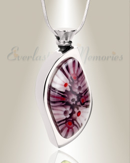 Mulberry Moments Leaf Cremation Locket