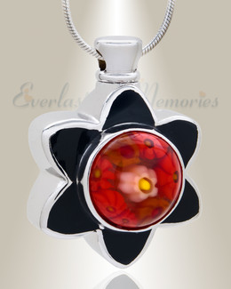 Flowery Fascination Cremation Jewelry