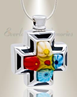 Dapper Cross Cremation Jewelry