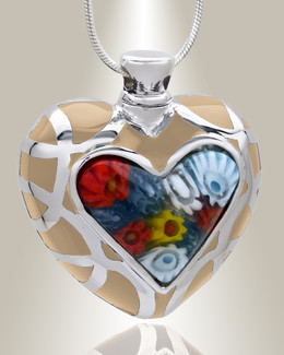 Supreme Heart Cremation Jewelry