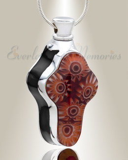 Emotions Black Cross Cremation Jewelry