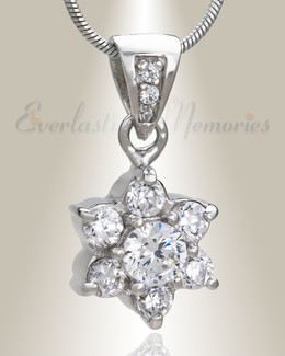 Shining Flower Memorial Jewelry