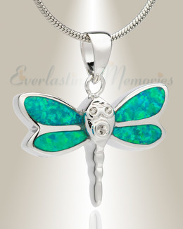 Soaring Dragonfly Memorial Jewelry