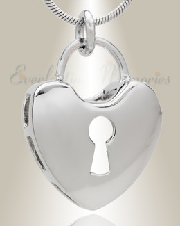 Latched Heart Memorial Jewelry
