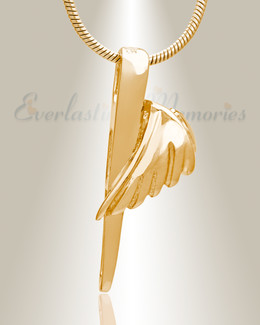 Inspiration Memorial Jewelry Gold Plated