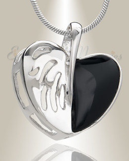 Duet Heart Memorial Jewelry