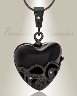 Black In My Dreams Cremation Jewelry