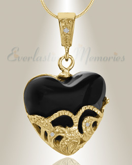 Gold Plated In My Dreams Cremation Jewelry