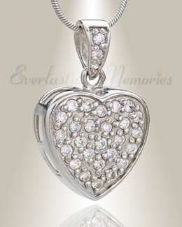 Brilliance Heart Memorial Jewelry