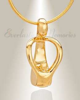 Gold Plated Free Spirits Memorial Jewelry
