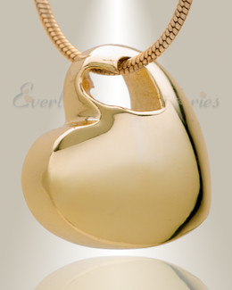 Small Candid Heart Gold Plated Jewelry