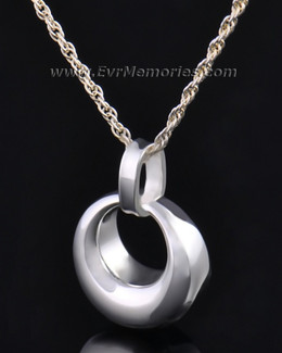 Silver Perpetual Round Jewelry Pendant