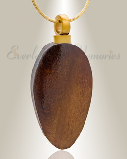 Truthful Teardrop Memorial Pendant
