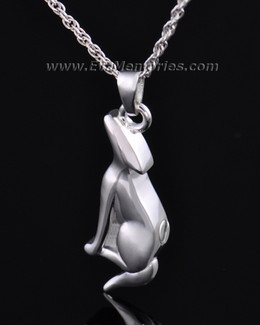 Sterling Silver Deserving Dog Memorial Locket