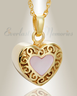 Gold Plated Tender Emotions Heart Keepsake
