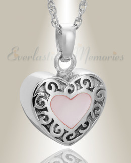Sterling Silver Tender Emotions Heart Keepsake