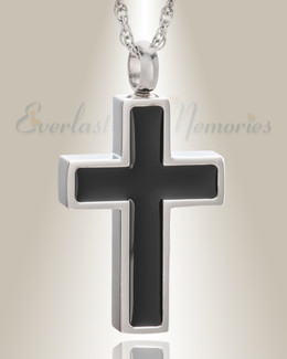 Stainless Steel Honor Cross Pendant Keepsake