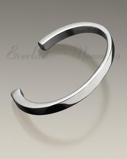 Stainless Steel Simplicity Cuff Bracelet Keepsake