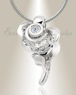 Radiant Rose Memorial Jewelry