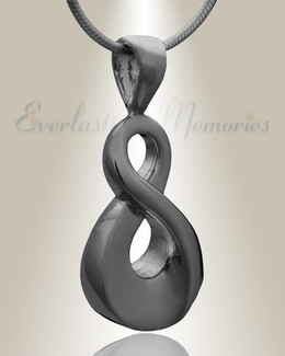 Black Always Cremation Jewelry