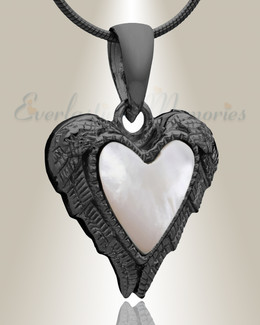 Black In Love Cremation Jewelry