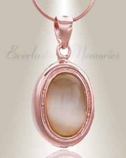Rose Gold Passionate Cremation Jewelry