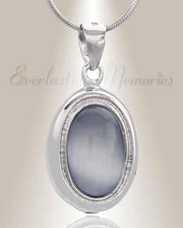 Silver Passionate Cremation Jewelry