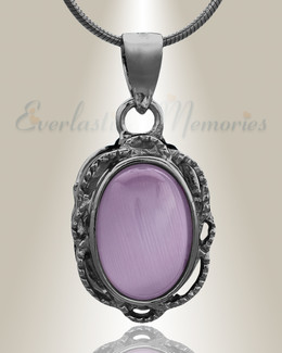 Black Sunset Cremation Jewelry