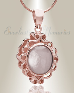 Rose Gold Believe Cremation Jewelry