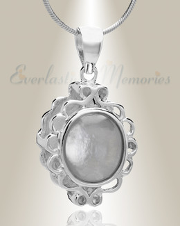 Silver Believe Cremation Jewelry