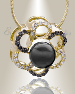 Gold Plated Knots Cremation Jewelry