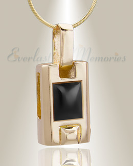 Gold Plated Tribute Cremation Jewelry