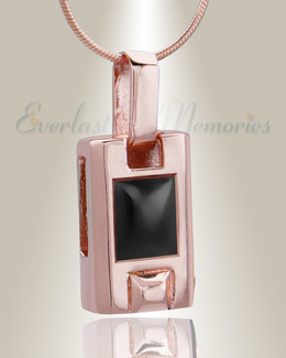 Rose Gold Tribute Cremation Jewelry