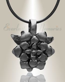 Black Roses Cremation Jewelry