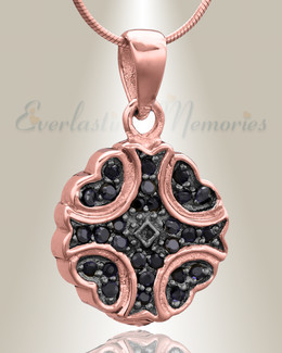 Rose Gold Celestial  Cremation Jewelry