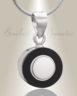 Black Moonlight Cremation Jewelry