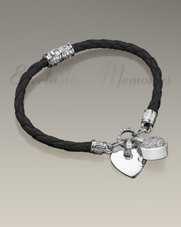 Silver Plated Forever Bracelet Cremation Jewelry