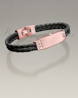Rose Gold Remembrance Bracelet Cremation Jewelry
