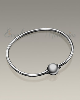 Silver Codder Bracelet Cremation Jewelry