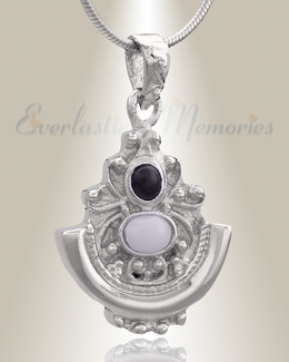 Silver Royalty Cremation Jewelry