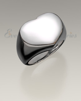 Silver Cherished Cremation Jewelry