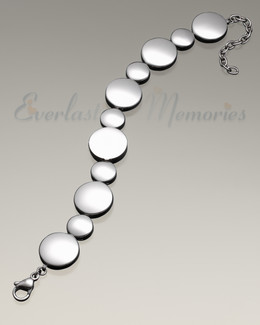 At Peace Bracelet Cremation Jewelry
