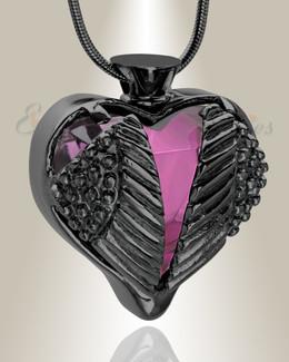 Purple Eternal Flight Cremation Jewelry