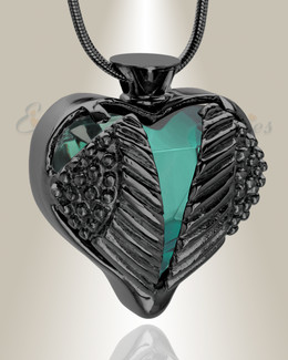 Turquoise Eternal Flight Cremation Jewelry