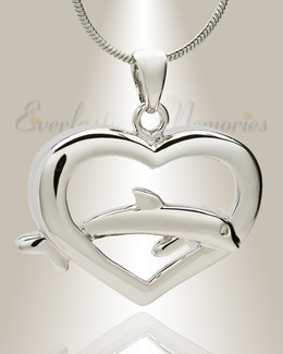 Dive Into My Heart Memorial Jewelry
