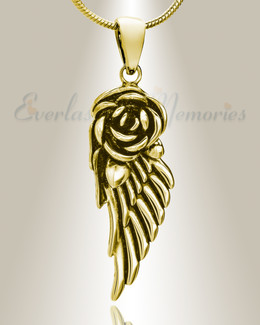Gold Plated Devout Memorial Jewelry