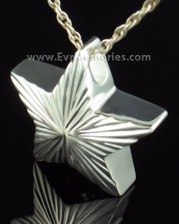 Sterling Silver Starlight Cremation Keepsake